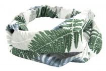 Bandeau cheveux imprimé tropical