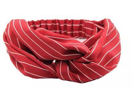 Bandeau rouge pour les cheveux