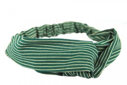 Bandeau cheveux femme vert