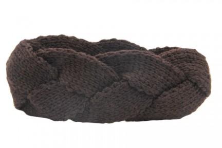 Bandeau hiver cheveux en laine