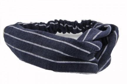 Bandeau pour cheveux en tissu large et wax africain