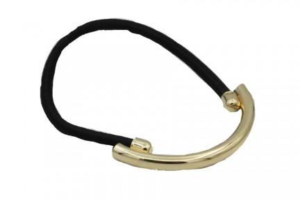 Elastique cheveux bijoux qui se porte en bracelet