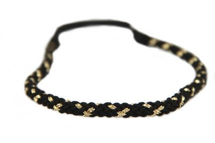 Headband torsade d'Or