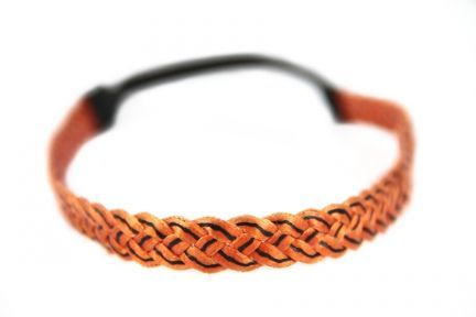 Bandeau cheveux orange