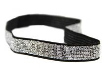 Bandeau cheveux disco headband paillettes