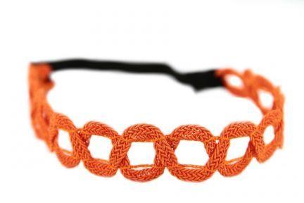 Accessoires cheveux orange pour coiffure