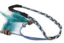 Headband plumes chics