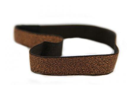 headband glitter doré