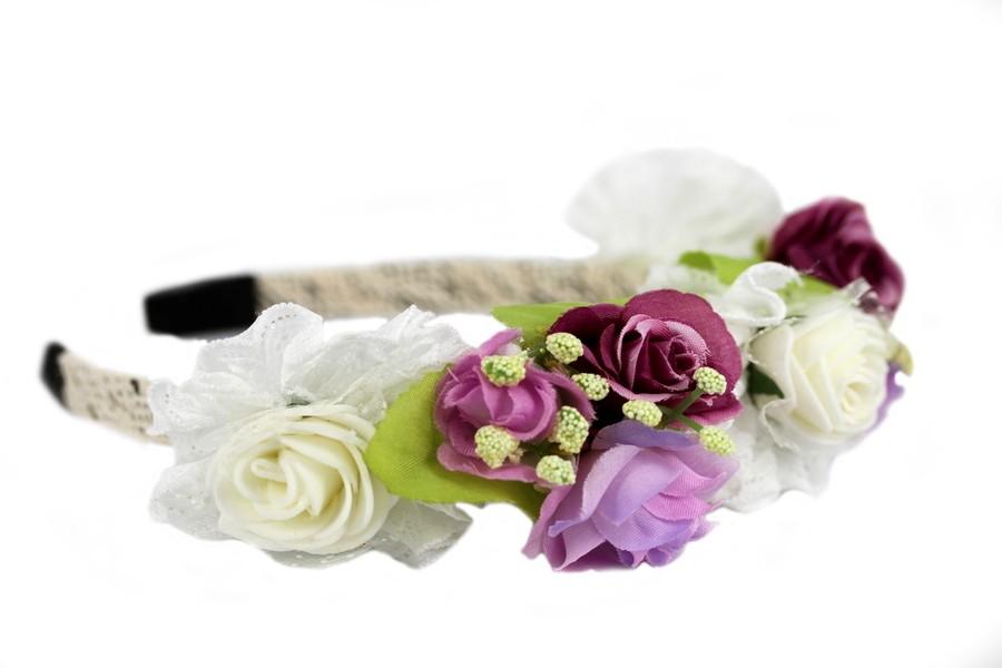 Couronne de fleurs pour mariage - Couronne de fleur mariage ...