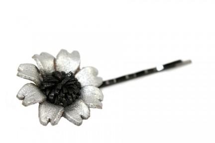 Pince bijou cheveux fleur