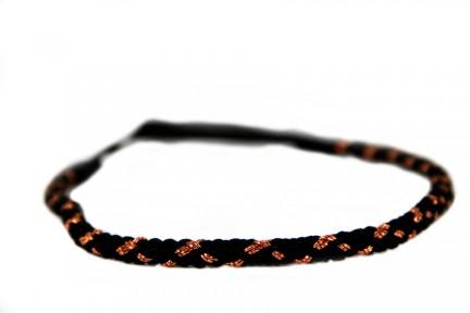 Headband torsade Cuivre