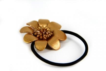Accessoires cheveux doré et or pour coiffure