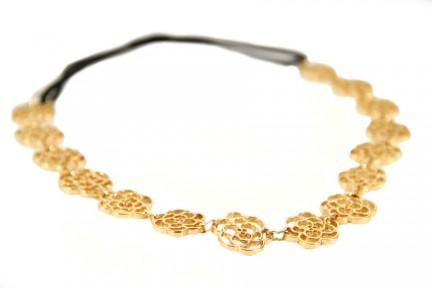 Headband bandeau cheveux métal