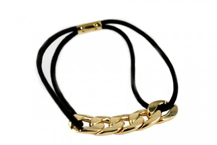 Élastique chaîne d'or
