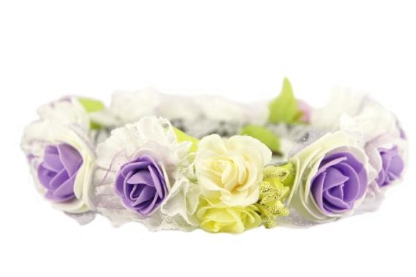 Couronne de fleurs pas cher for Fleur a repiquer pas cher