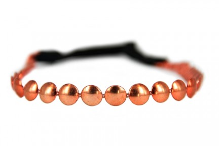 Headband bijou cuivre