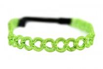 Headband vert émeraude pour mariage