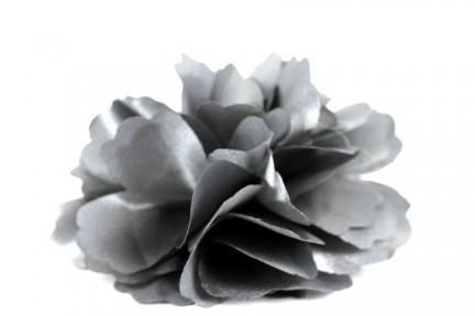 Pince grosse fleur tissu