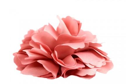 Pince cheveux fleur rose