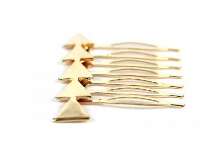 Peigne cheveux Flèche d'or