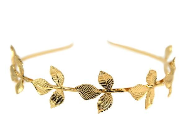 Serre tête feuilles d'or