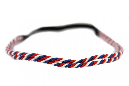Headband bleu blanc rouge