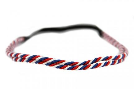 Headband bleu blanc rouge