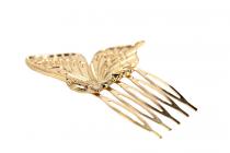 Peigne chignon Papillon d'or
