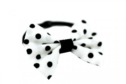 Accessoires cheveux pois pin up rockabilly
