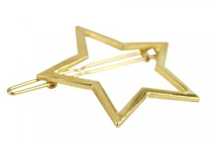 Pince clip barrette étoile cheveux