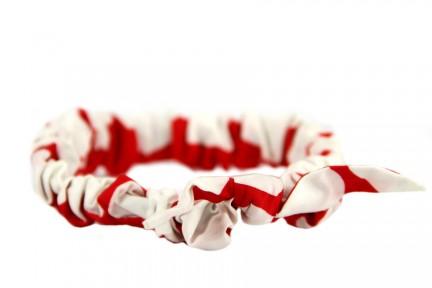 Headband rouge pour cheveux