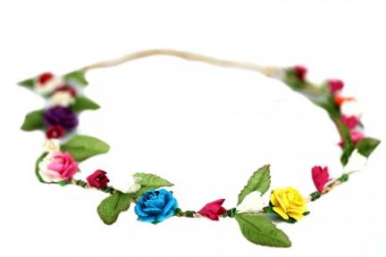 Couronne de fleurs pas cher