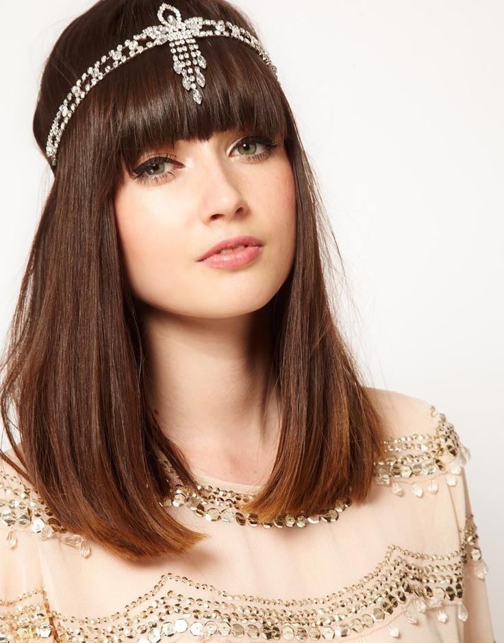 porter headband avec frange