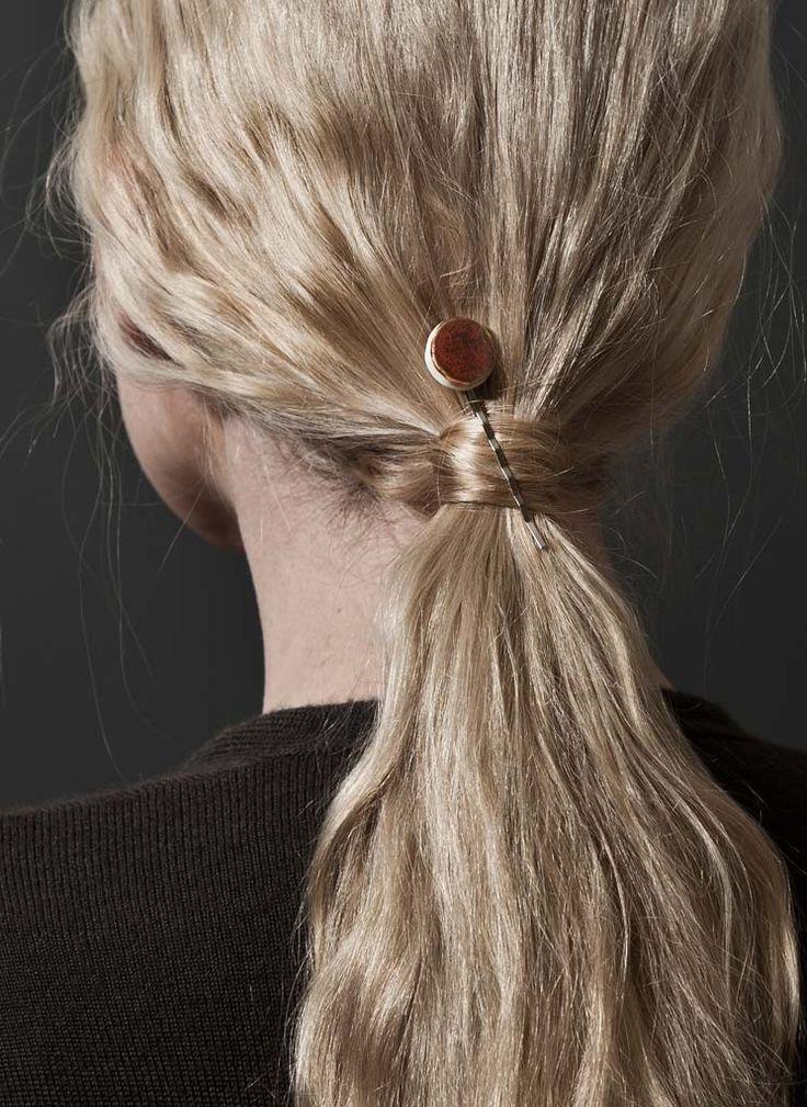 comment mettre barrette cheveux