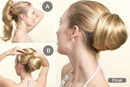 Comment Faire Un Chignon Bun Avec Les Cheveux Courts Ou Longs