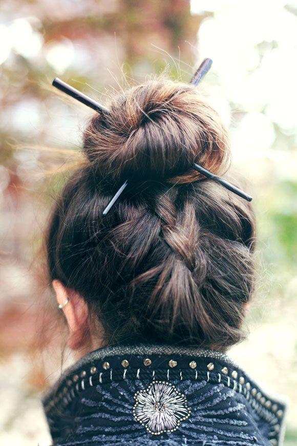 comment porter pic cheveux