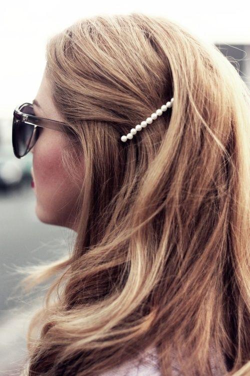 comment porter pince cheveux