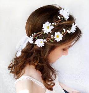 accessoires cheveux mariage enfant