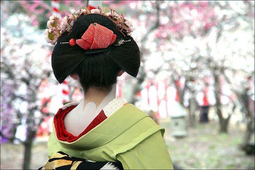 coifffure traditionnelle japonaise