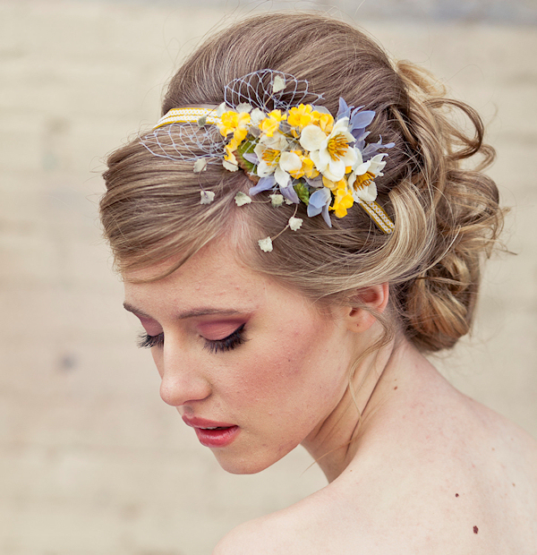 fleurs cheveux mariage - Accessoir Cheveux Mariage