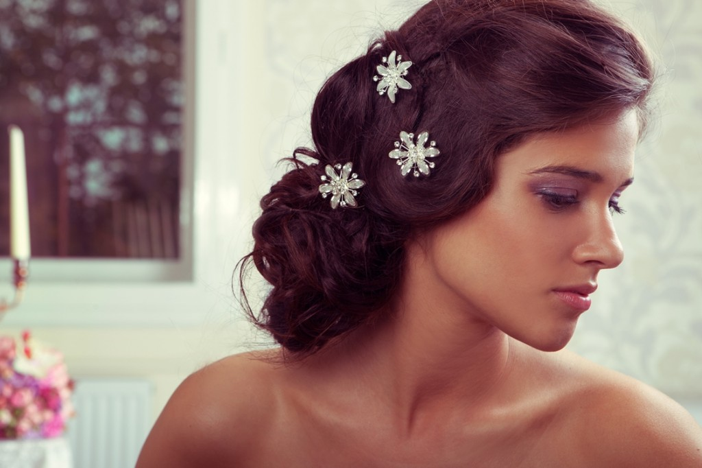 pince cheveux mariage pour mariee