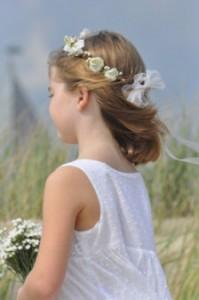accessoires coiffure communion