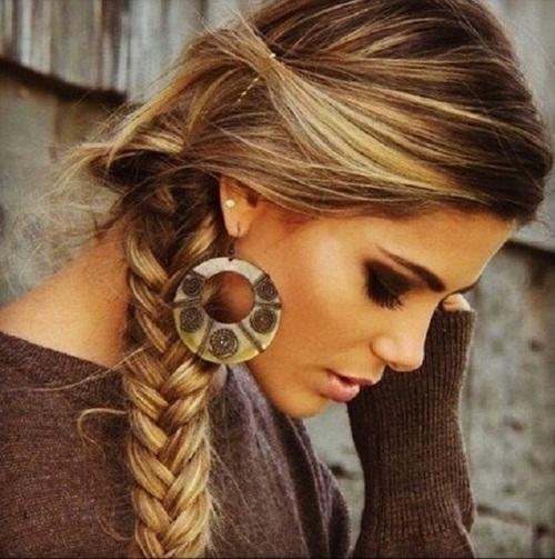 technique coiffure tresse