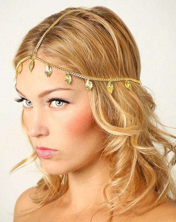 Porter son headband avec raie au milieu - Comment porter le headband ...