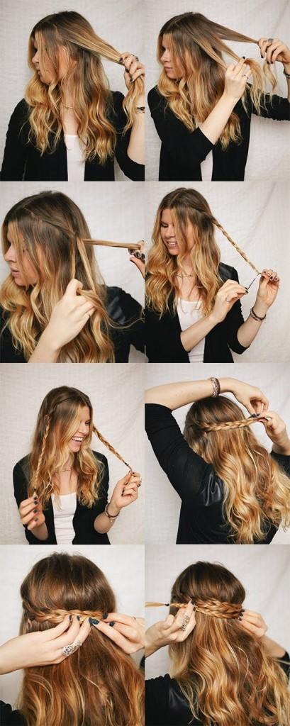 belle coiffure facile a faire
