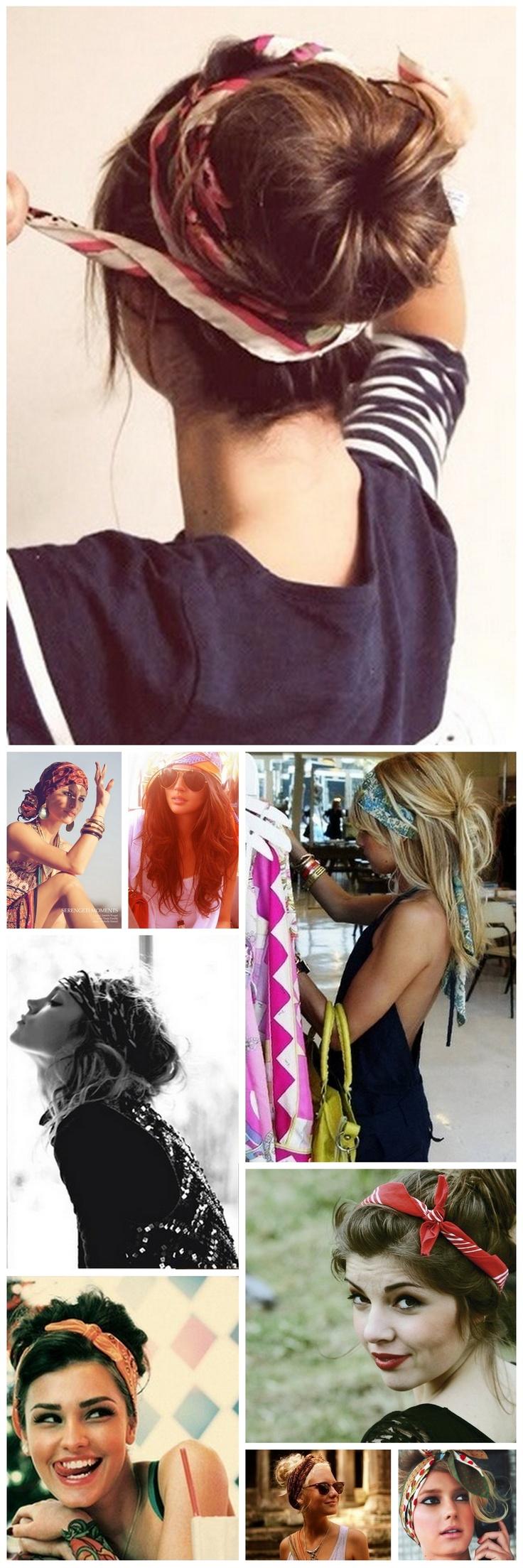 Quelle Coiffure Choisir dedans coiffure foulard cheveux longs