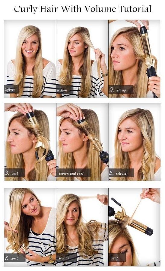 faire boucles cheveux