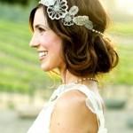 headband mariage cheveux courts