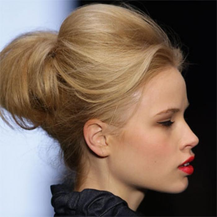 idee coiffure avec elastique