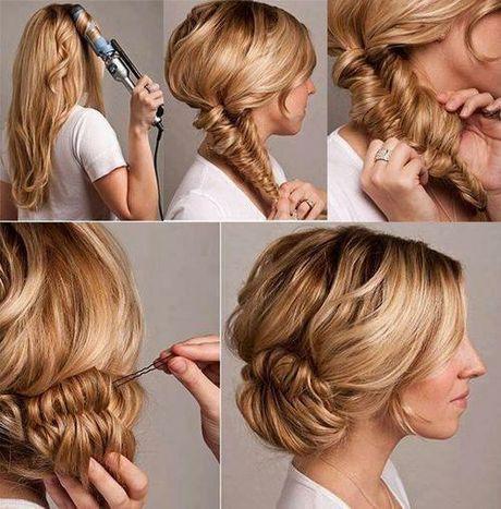 Comment faire couronne cheveux